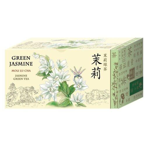 Чай зеленый Green Panda Зеленый жасмин в пакетиках, 25 шт. доброе утро жасмин зеленый чай 80 г