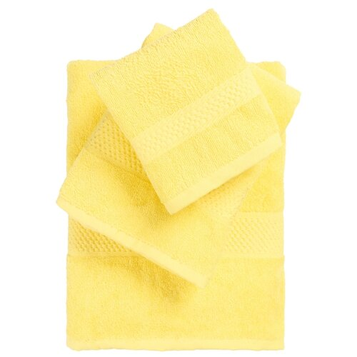 HappyFox Набор полотенец HappyFox HF6090130EK лимонный