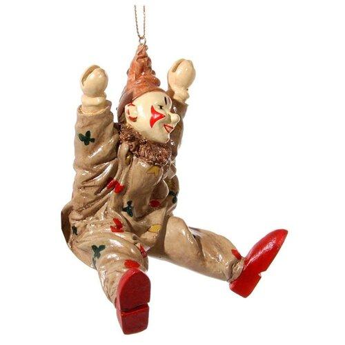 Елочная игрушка SHISHI 46364, коричневый