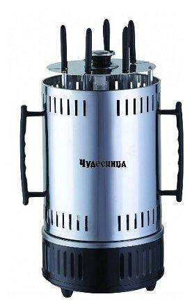 Купить Шашлычница Чудесница ЭШ-1005, серебристый по низкой цене с доставкой из Яндекс.Маркета