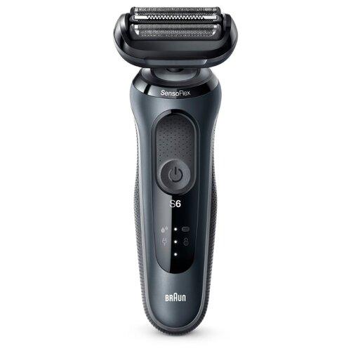 Электробритва Braun 60-N1000s/60-B1000s/60-R1000s Series 6, темно-серый