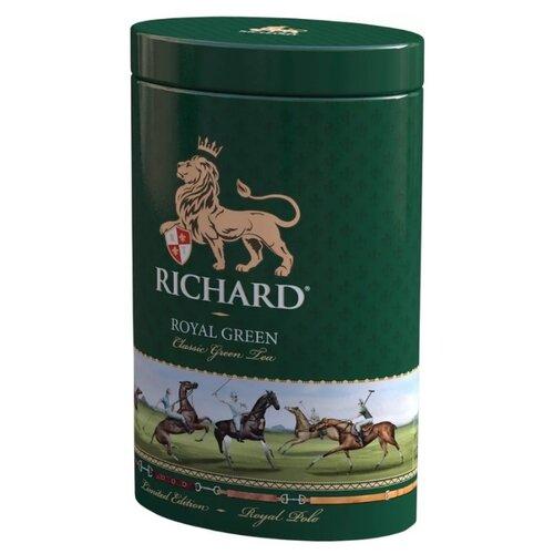 Чай зеленый Richard Royal green Polo подарочный набор , 80 г чай листовой richard royal ceylon dogs