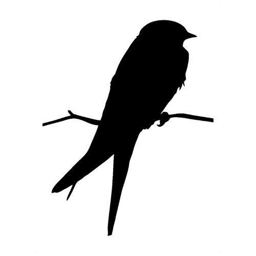 Наклейка Melcom Птичка, меловая наклейка melcom уютный чайник 04 меловая