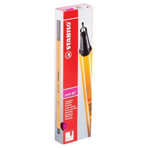 Купить STABILO Набор капиллярных ручек Point 88 0.4 мм, 10 шт., розовый цвет чернил, Ручки