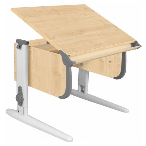 Купить Стол ДЭМИ СУТ-24 75x55 см клен/серый/белый, Парты и столы