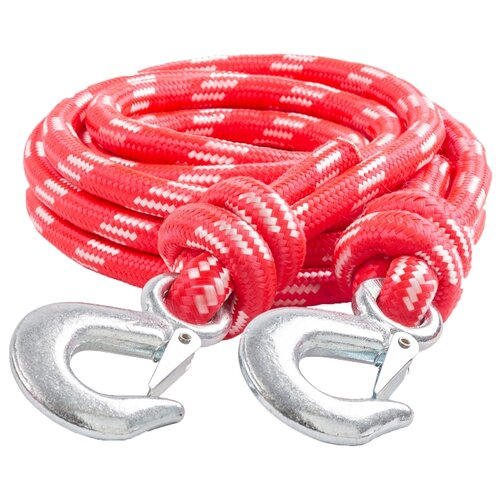 цена на Канатный буксировочный трос AUTOPROFI TRV-50/1 5 м (5 т) красный
