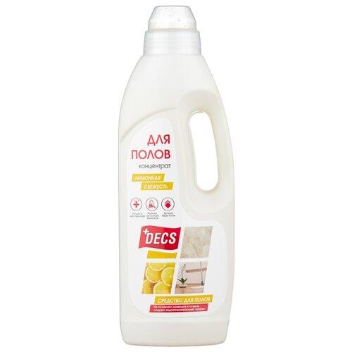 DECS Средство для мытья полов Лимонная свежесть 1 л glorix средство для мытья полов лимонная энергия 1 л