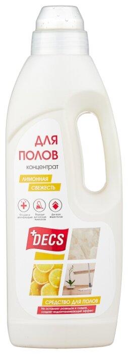 DECS Средство для мытья полов Лимонная свежесть