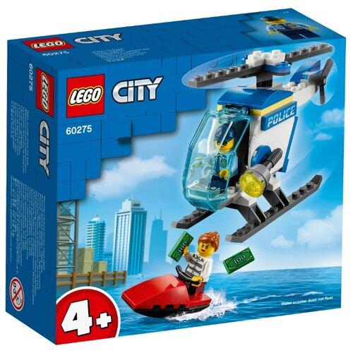Купить Конструктор LEGO City 60275 Полицейский вертолёт, Конструкторы