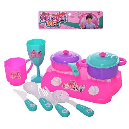 Игровой набор Shantou Gepai B1796129 розовый/голубой недорого