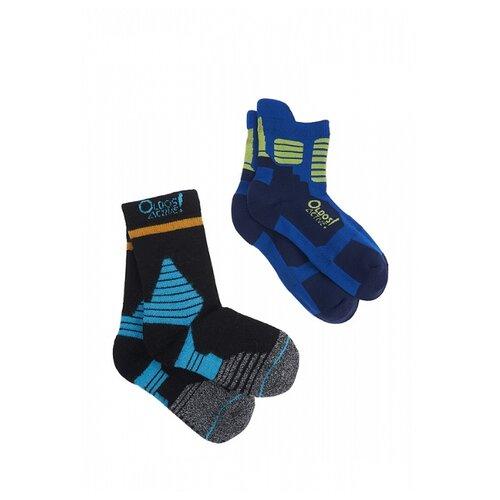 Купить Носки Oldos Денс 4-5-0-NSK08, размер 29-31, синий, Термобелье