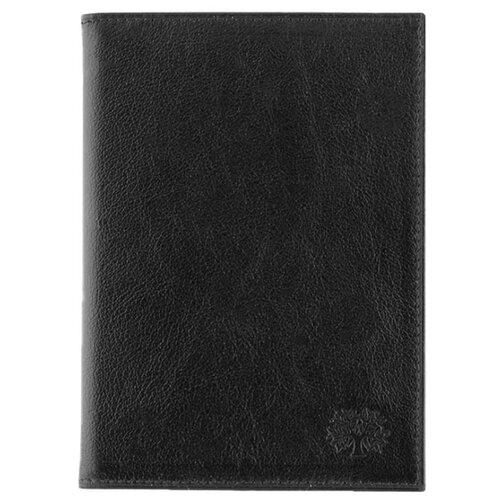 Обложка на автодокументы и паспорт 2в1 Qoper 0411 black