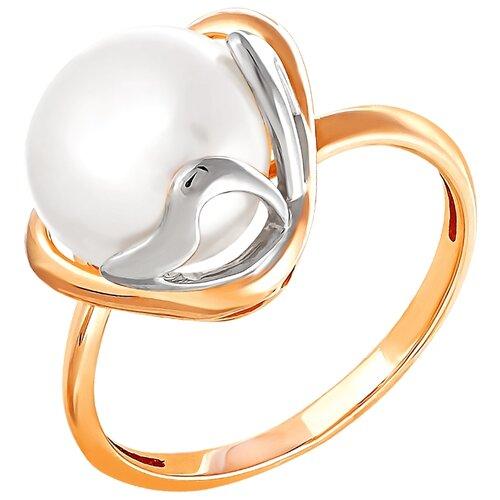 Фото - ПримаЭксклюзив Кольцо с 1 жемчугом из красного золота 190-1-621Р, размер 17 примаэксклюзив кольцо с 1 жемчугом из красного золота 190 1 921р размер 17