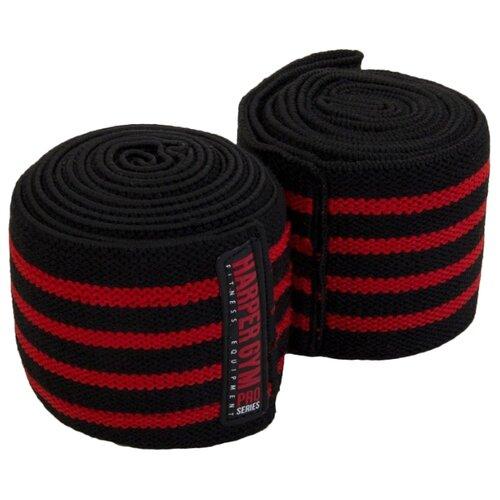 Бинт 2 шт. Harper Gym Pro Series JE-2676 черный/красный
