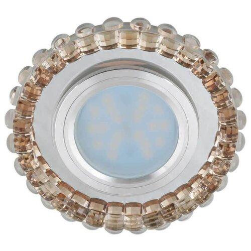 Встраиваемый светильник Fametto Luciole DLS-L133 GU5.3 Chrome/Champagne