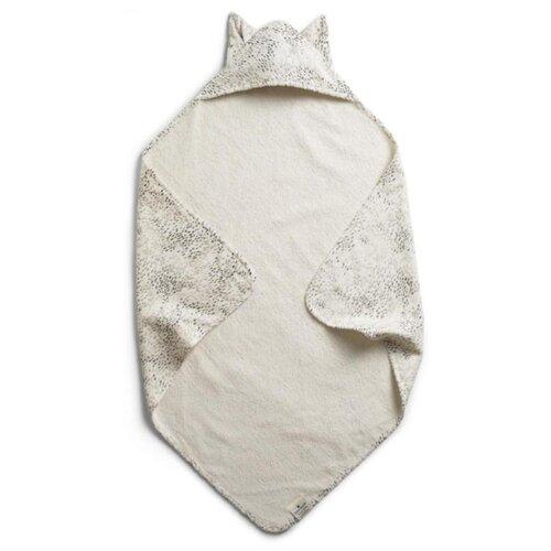 Elodie Details Полотенце с капюшоном Dots of Fauna Kitty 1038700 банное 80х80 см белый/серый