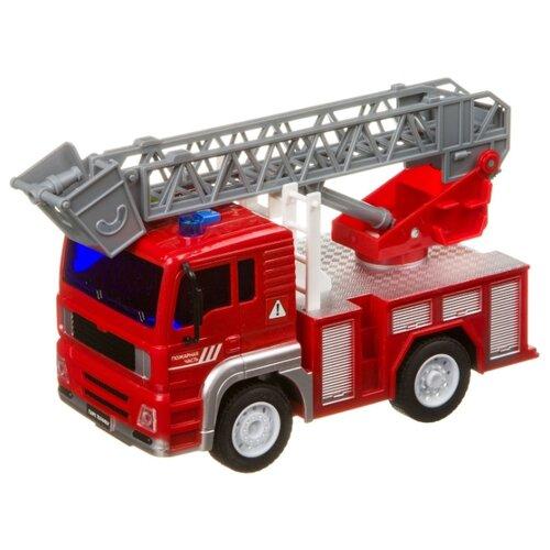 Купить Пожарный автомобиль BONDIBON Парк техники Пожарный кран (ВВ4063) 1:20 24 см красный, Машинки и техника