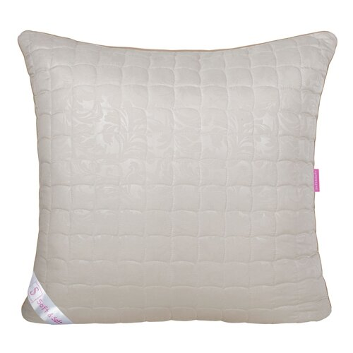 Подушка Традиция Soft&Soft Овечья шерсть 50 х 70 см микрофибра бежевый