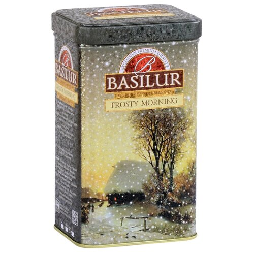 Чай черный Basilur Festival сollection Frosty morning подарочный набор , 85 г
