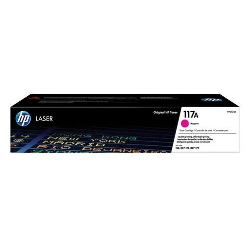 Фото - Картридж лазерный HP (W2073A) для HP Color Laser 150a/nw/178nw/fnw, пурпурный, ресурс 700 страниц, оригинальный картридж лазерный hp 117 w2073a пурпурный