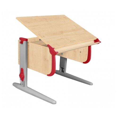 Купить Стол ДЭМИ СУТ-24 75x55 см клен/красный/серый, Парты и столы