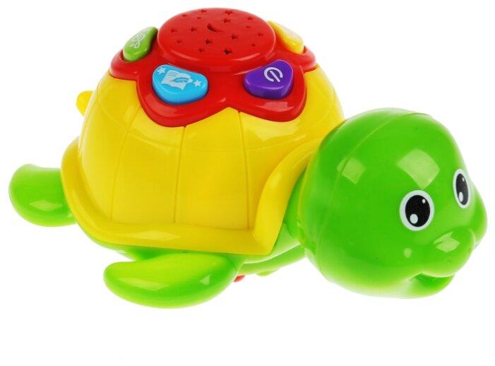 Интерактивная развивающая игрушка Умка Музыкальная черепашка ночник