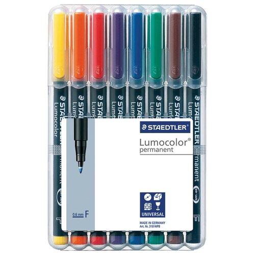 Купить Staedtler Набор перманентных маркеров, 8 шт. (318 WP8), Маркеры