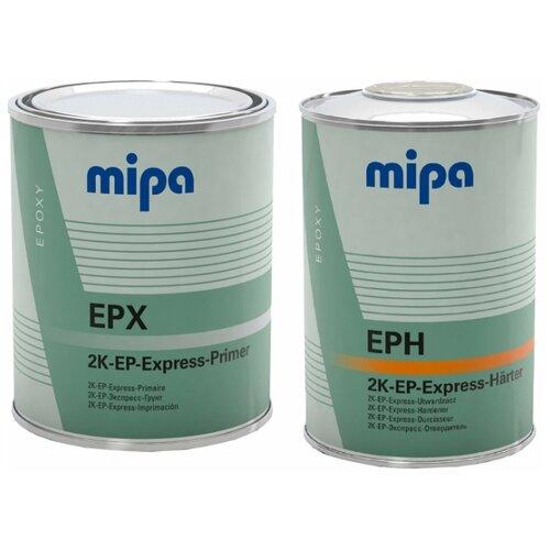 Mipa Грунт Эпоксидный 2К EP-Expressprimer EPX, в комплекте с отвердителем (1л + 1л)