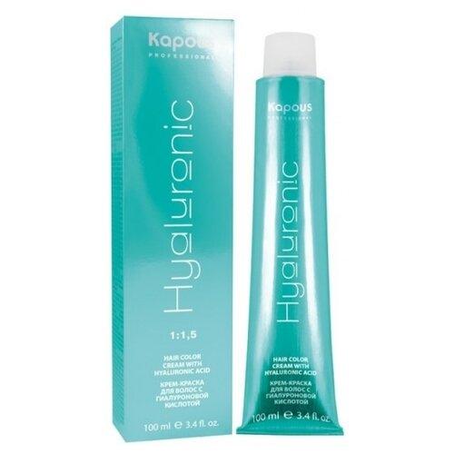 Купить Kapous Professional Hyaluronic Acid Крем-краска для волос с гиалуроновой кислотой Специальное мелирование, фуксия, 100 мл