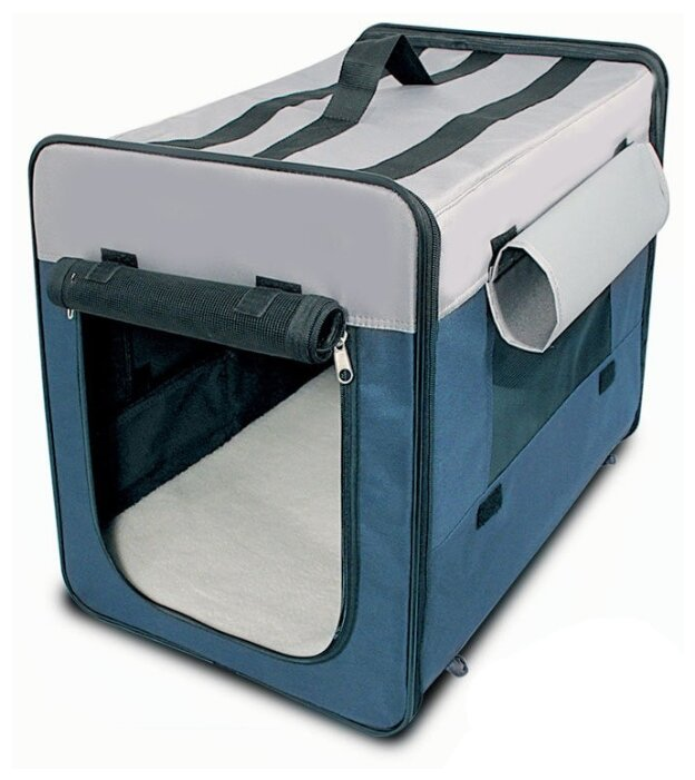 Переноска-домик для собак Triol Дом-тент 1047M 61х46х54 см