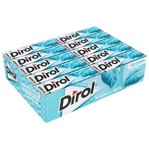Жевательная резинка Dirol Cadbury Нежность мяты без сахара 30 шт