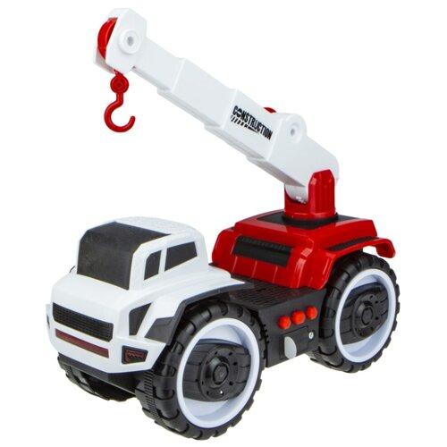 Купить Автокран 1 TOY Горстрой (Т16943) 20 см белый/красный, Машинки и техника