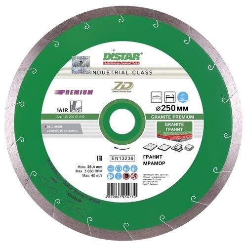 Диск алмазный отрезной 250x1.8x25.4 Di-Star 1A1R Granite Premium 11320061019 1 шт. диск здоровья pro star fit