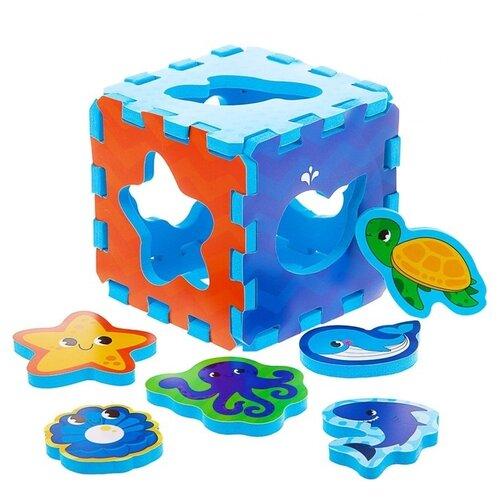 Игрушка для ванной Крошка Я Морские животные (3784986) мультиколор набор мини ковриков для ванной крошка я морские животные 3253273 разноцветный 2 шт