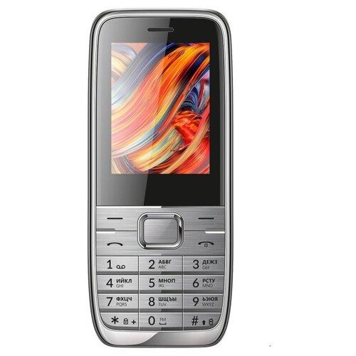 Телефон VERTEX D533 серебристый