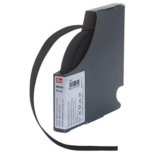 Prym Эластичная лента мягкая 955350, черный 1.5 см х 10 м prym эластичная лента мягкая 955351 белый 1 5 см х 10 м