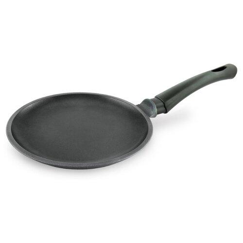 Фото - Сковорода блинная НЕВА МЕТАЛЛ ПОСУДА Титан 9220, 20 см сковорода блинная нева металл посуда байкал 256224 24 см