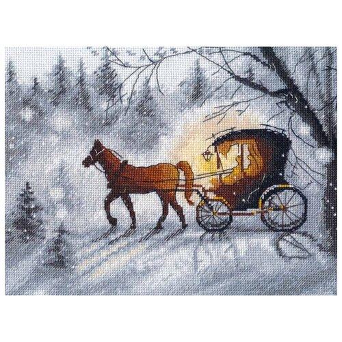 Овен Набор для вышивания Вечерняя прогулка 17 x 22 см (1188)