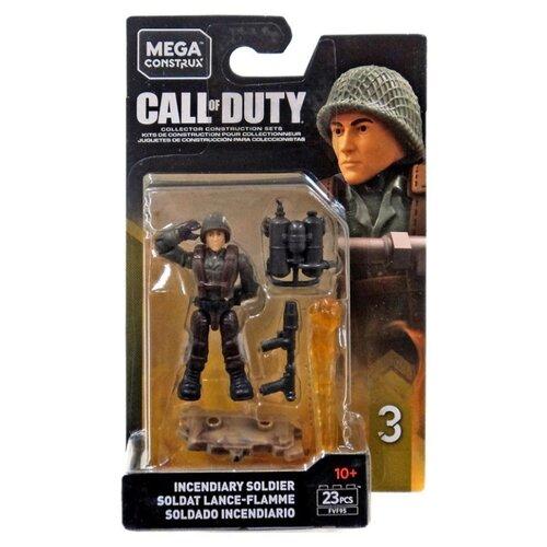 Конструктор Mega Construx Call of Duty FVF95 Солдат с огнеметом