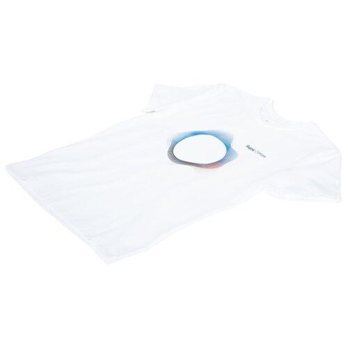 Футболка Яндекс Станция женская (размер XL), белый футболка rainbow tekstil route66 размер xl белый