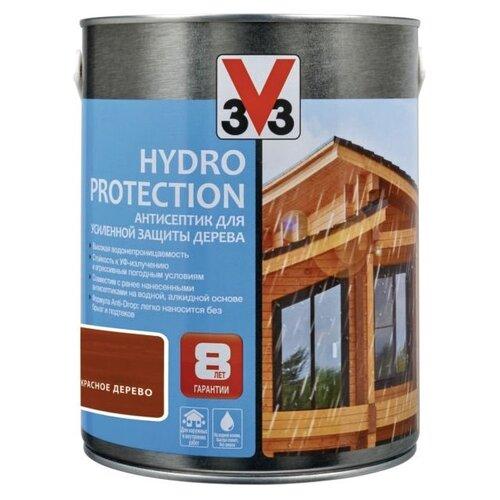 V33 Hydro Protection красное дерево 0.9 л