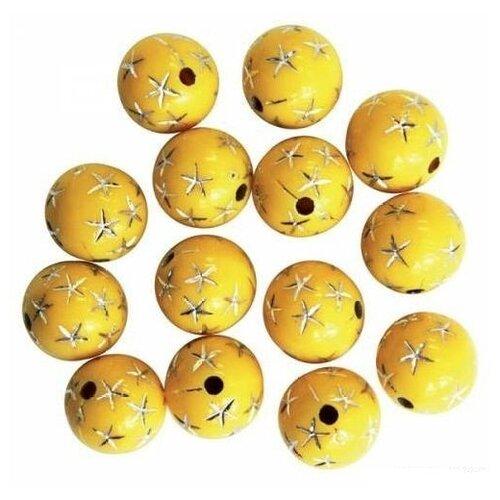 Купить Бусины, цвет: 7, 12 мм, арт. BV-3080, Astra & Craft, Фурнитура для украшений