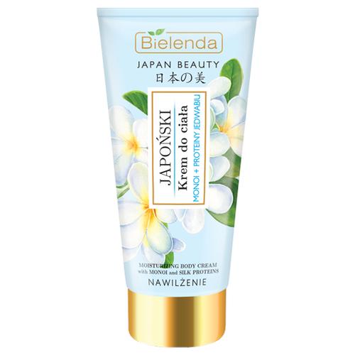 Крем для тела Bielenda Japan Beauty масло монои и протеины шелка, 200 мл