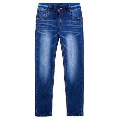 Джинсы playToday размер 128, синий джинсы playtoday playtoday mp002xb00a99