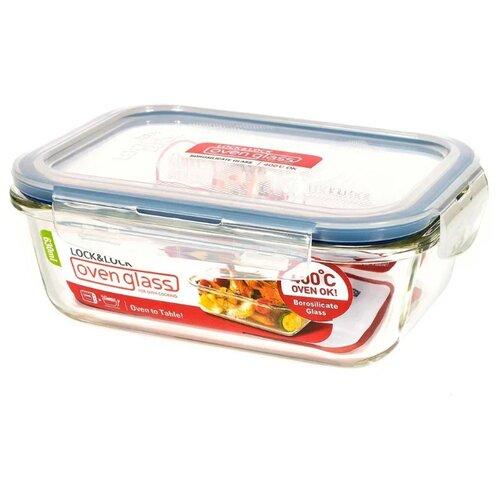 Lock & Lock Контейнер прямоугольный пищевой OvenGlass LLG428 прозрачный