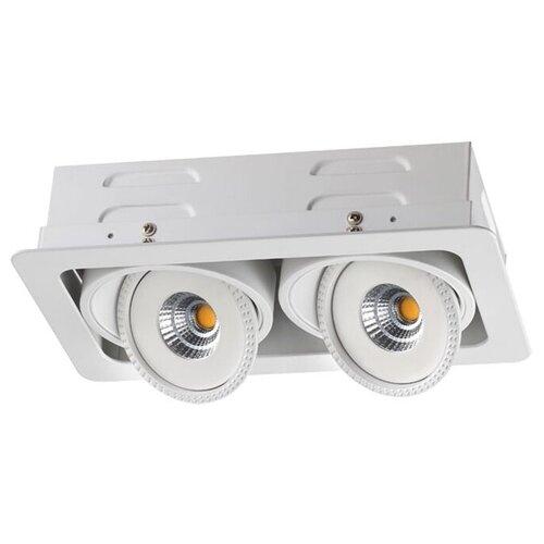 Встраиваемый светильник Novotech Gesso 357581 встраиваемый светильник novotech gesso 357582