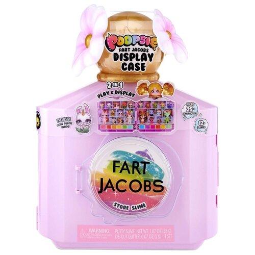 Купить Игровой набор Poopsie Fart Jacobs 2-in-1 Play and Display Case 559894, Игровые наборы и фигурки