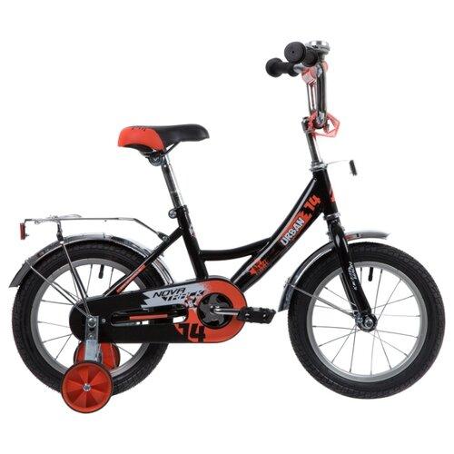 Детский велосипед Novatrack Urban 14 (2020) черный (требует финальной сборки) велосипед ghost square urban 6 2016