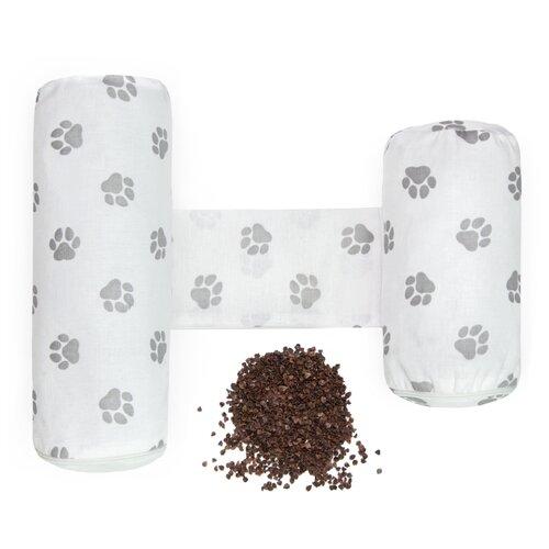 Купить Подушка (валик-позиционер для боковой поддержки) Amarobaby Nature Anatomy с лузгой гречихи, Покрывала, подушки, одеяла