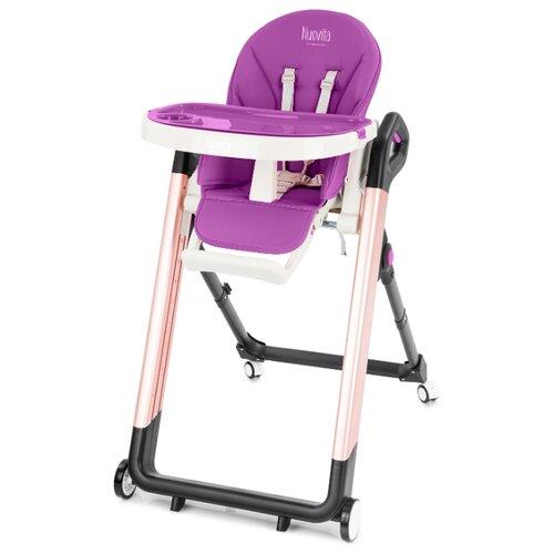 Купить Стульчик для кормления Nuovita Orbita пурпурный/розовый, Стульчики для кормления